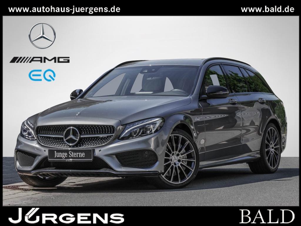 Mercedes-Benz C 43 AMG 4M T Comand/ILS/Cam/Night/Burm/EASY-P, Jahr 2018, Benzin