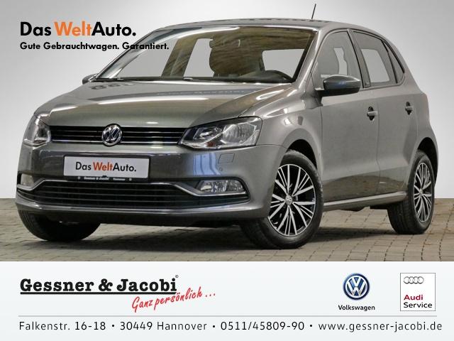 Volkswagen Polo 1.0 EU6 Allstar PDC Bluetooth Klimaanlage, Jahr 2016, Benzin