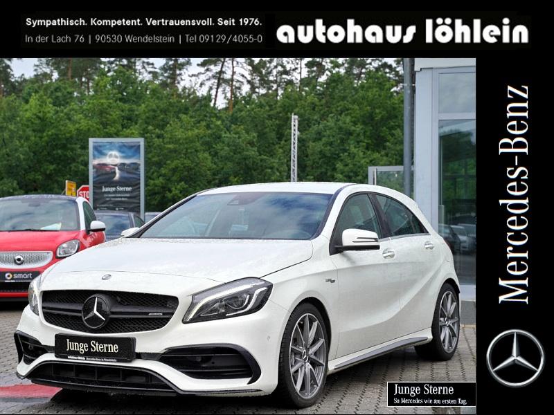 Mercedes-Benz A 45 AMG 4M SPORTAUSPUFF+DISTRONIC+SOUNDSYSTEM+, Jahr 2016, Benzin