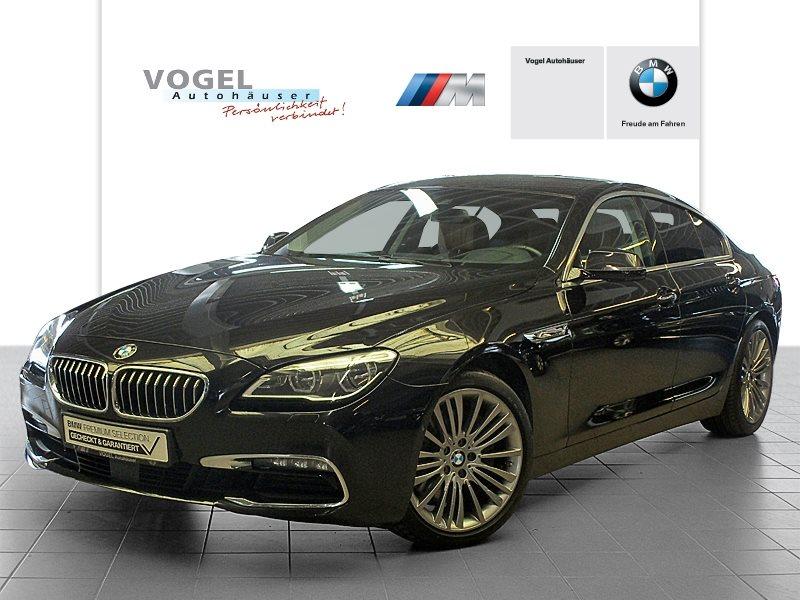 BMW 640d Gran Coupé Euro 6 Navi Prof Head-Up Display Rückfahrkamera PDC Sitzheizung Speed Limit Info, Jahr 2015, Diesel