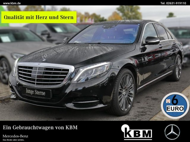 Mercedes-Benz S 500 4M °DISTRONIC°STANDHZG°PANO-SD°360°SOUND°, Jahr 2013, petrol