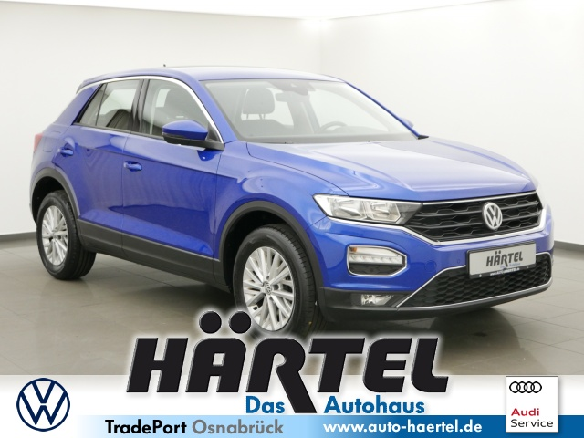 Volkswagen T-ROC TSI (+CLIMATRONIC+SITZHEIZUNG) Bluetooth, Jahr 2018, Benzin