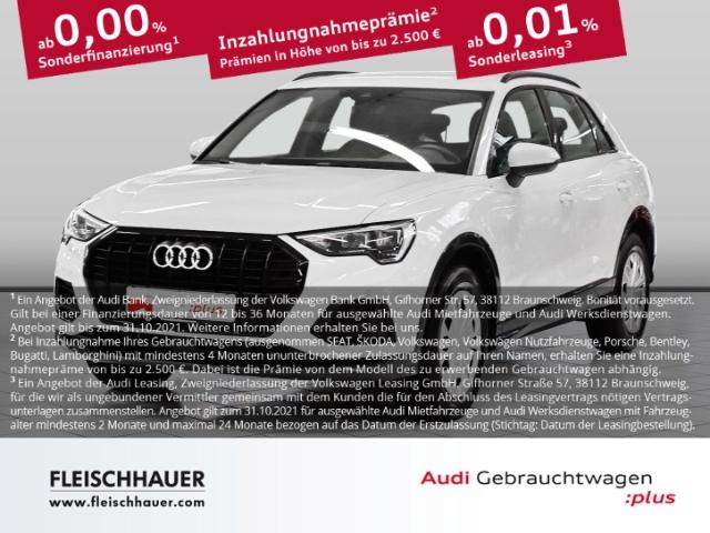 Audi Q3 35 TFSI advanced Navi+LED+VC+18''+Kamera+connect+Telefon, Jahr 2020, Benzin