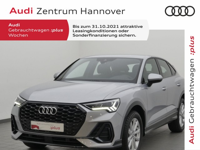 Audi Q3 Sportback 35 TFSI, Jahr 2021, Benzin