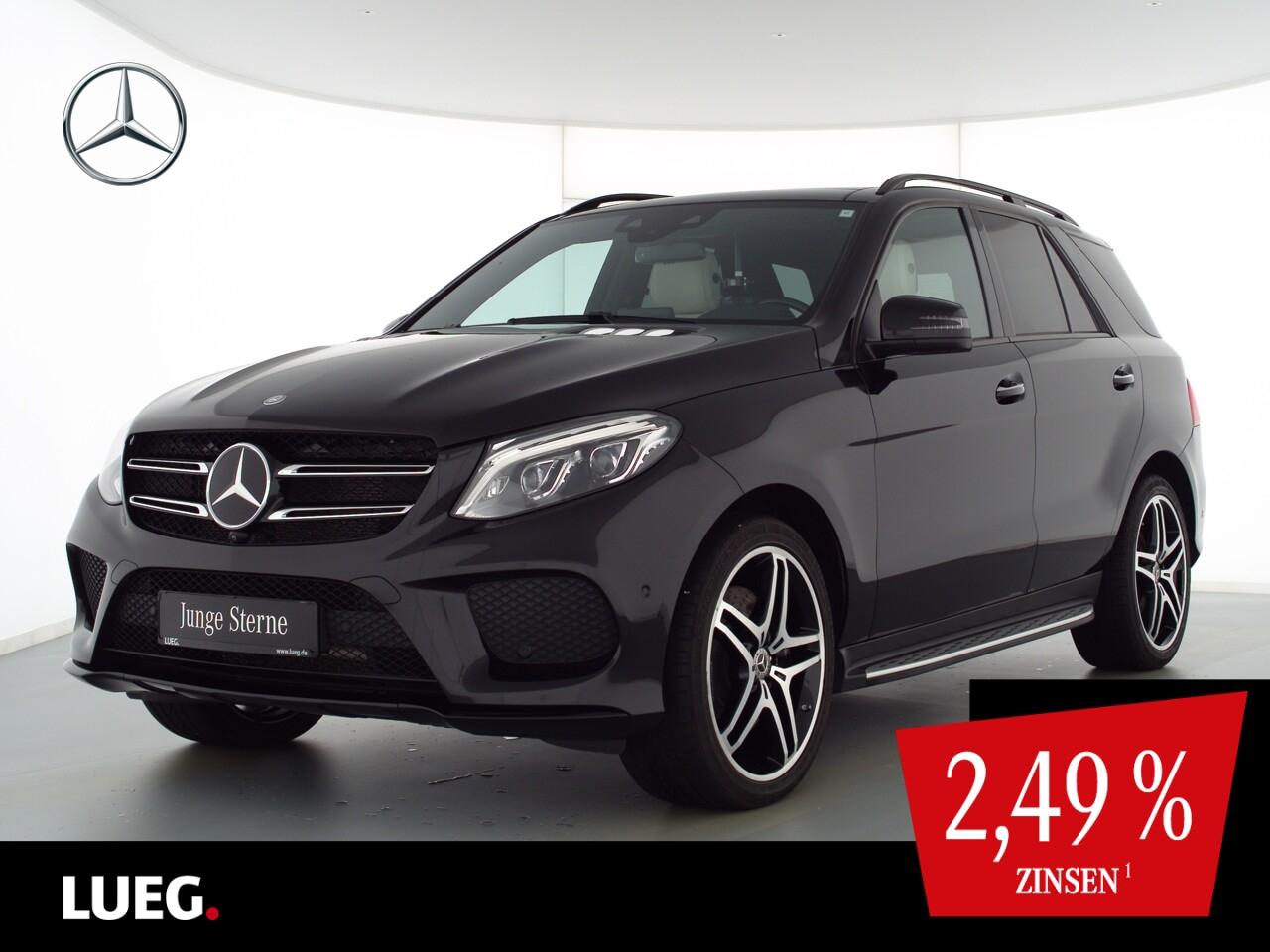 Mercedes-Benz GLE 500 4M AMG+COM+Pano+LED-ILS+B&O+21+Sthzg+360, Jahr 2017, Benzin