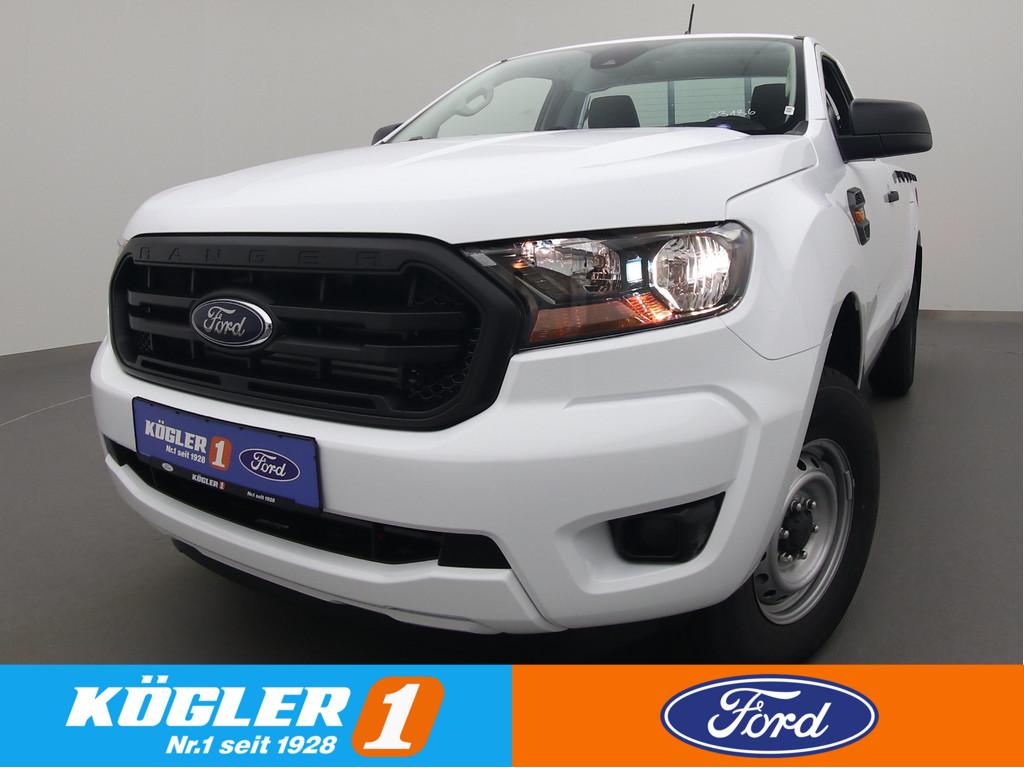 Ford Ranger Einzelkabine XL 4x4 130PS/DAB/AHK, Jahr 2021, Diesel
