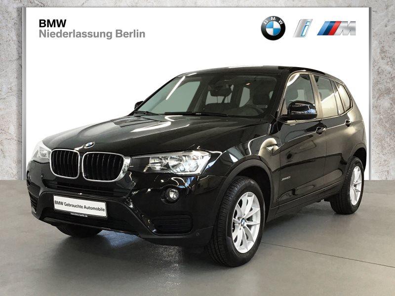 BMW X3 xDrive20i EU6 Aut. Alarm PDC Kamera AHK, Jahr 2016, Benzin