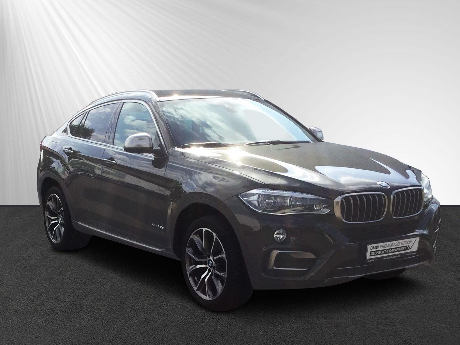 BMW X6 xDrive30d Navi Komfortsitze Rkam LED HUD, Jahr 2016, diesel