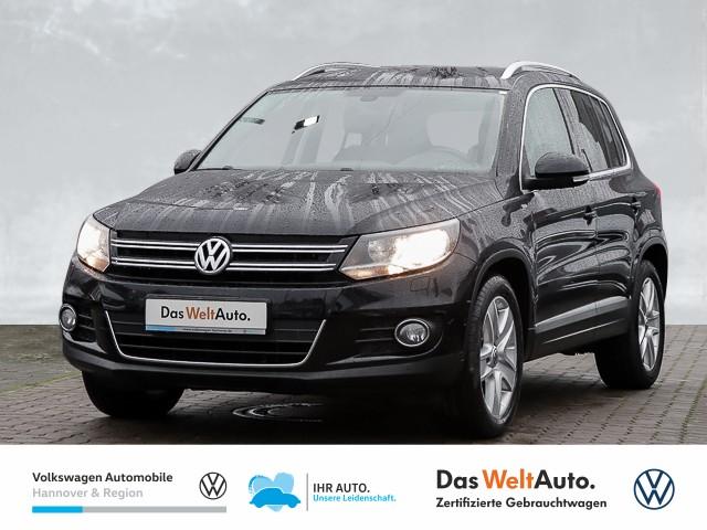 Volkswagen Tiguan 2.0 TDI Cup Sport & Style Navi PDC Park Assist Klima SHZ, Jahr 2014, Diesel