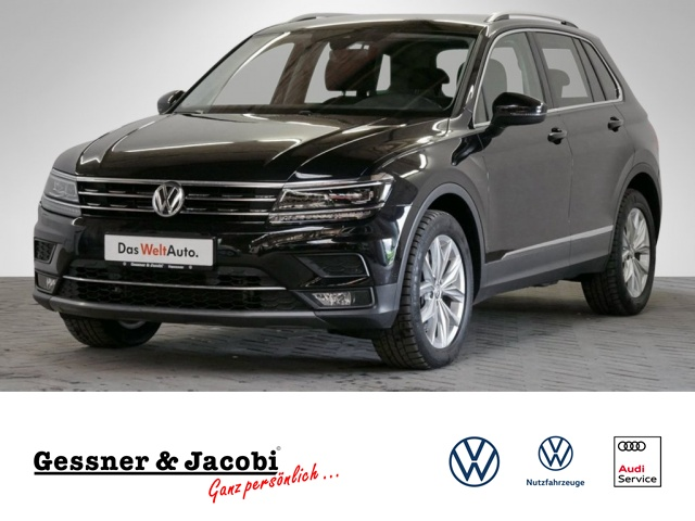 Volkswagen Tiguan 2.0 TSI BMT EU6 4Motion Highline DSG PDC, Jahr 2018, Benzin