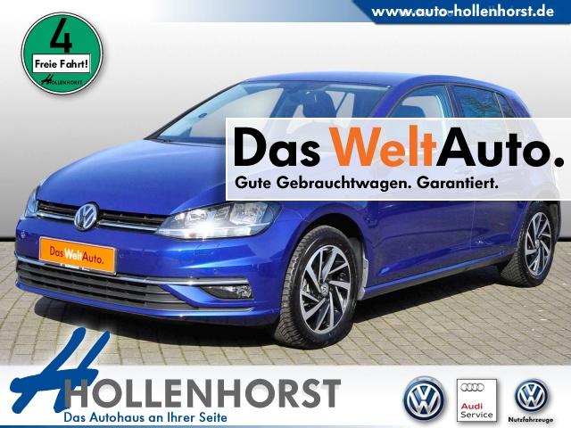 Volkswagen Golf VII 1.4 l BMT TSI JOIN NAVI AHK ACC Bluetooth, Jahr 2018, Benzin