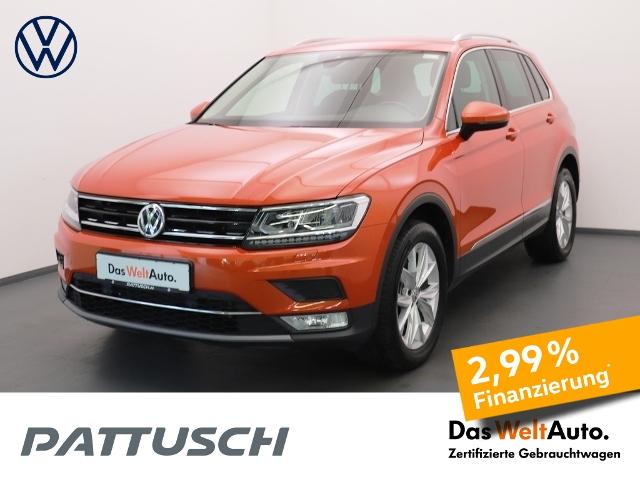 Volkswagen Tiguan 1.4 TSI DSG 4M Highline AHK Navi LED AID, Jahr 2017, Benzin