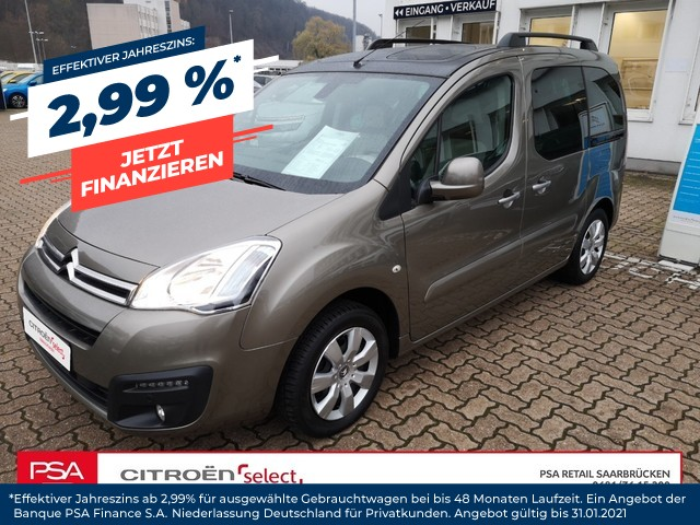 Citroën Berlingo SELECTION 1,6l120PS Modutop|Klima|PDC|, Jahr 2016, Benzin