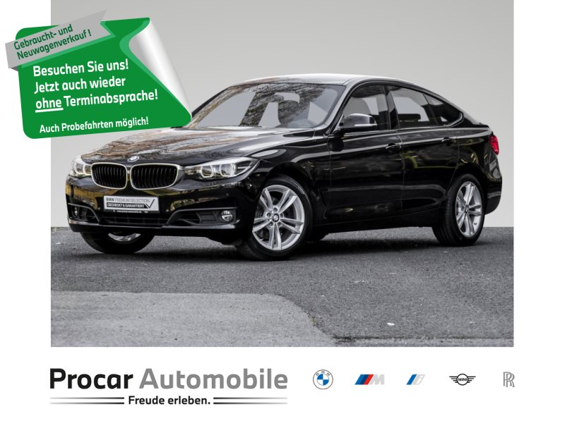 BMW 330i xDrive GT NAVI+HEAD-UP+KAMERA+HIFI+PDC+LED+SITZHZ, Jahr 2018, Benzin