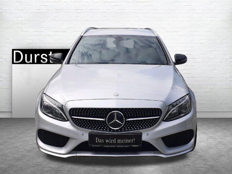 Mercedes-Benz C 450 T 4M AMG, NAVI,DISTRONIC,BURMESTER,ST-HZG, Jahr 2016, Benzin
