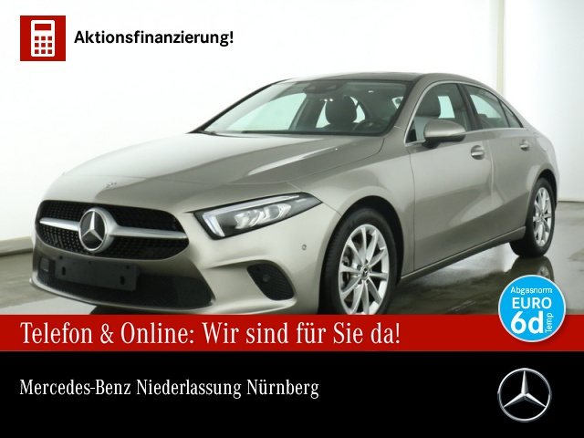 Mercedes-Benz A 180 d Limo Progressive Pano AHK Kamera LED SHZ, Jahr 2020, Diesel