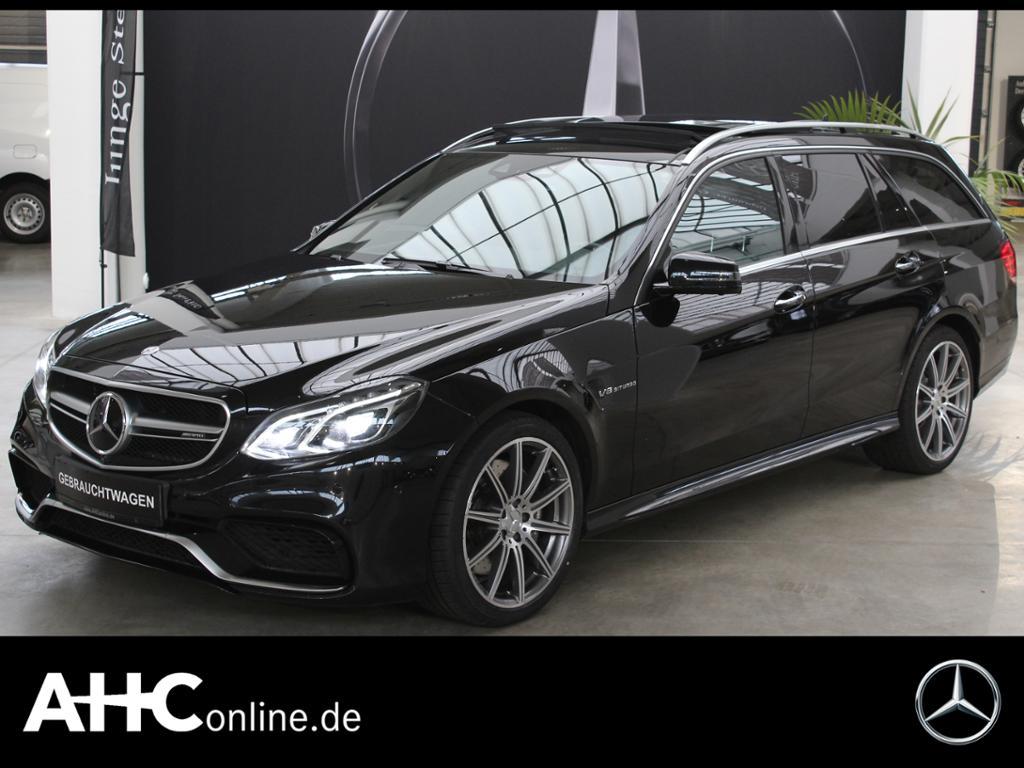 Mercedes-Benz E 63 AMG 4M T AVANTGARDE+DISTR.+LED+PANO.+SPUR-P, Jahr 2014, Benzin