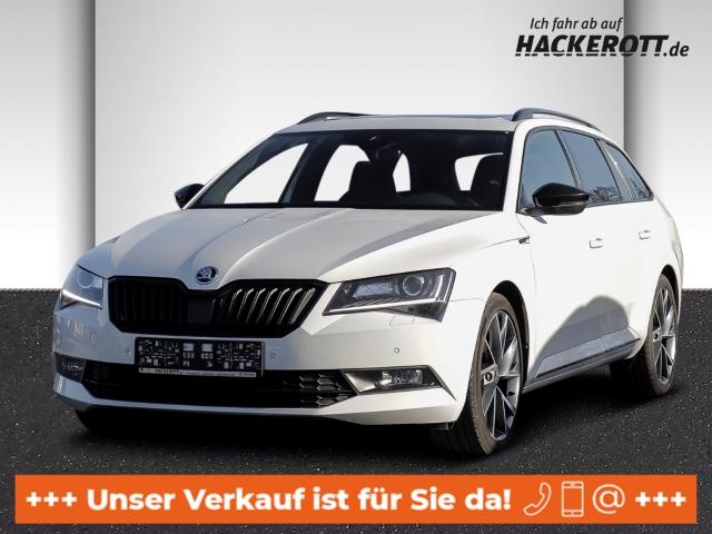 Skoda Superb Combi SportLine 2.0TDI Bi-Xenon StandHZG e-Sitze Rückfahrk e-Panodach, Jahr 2017, Diesel