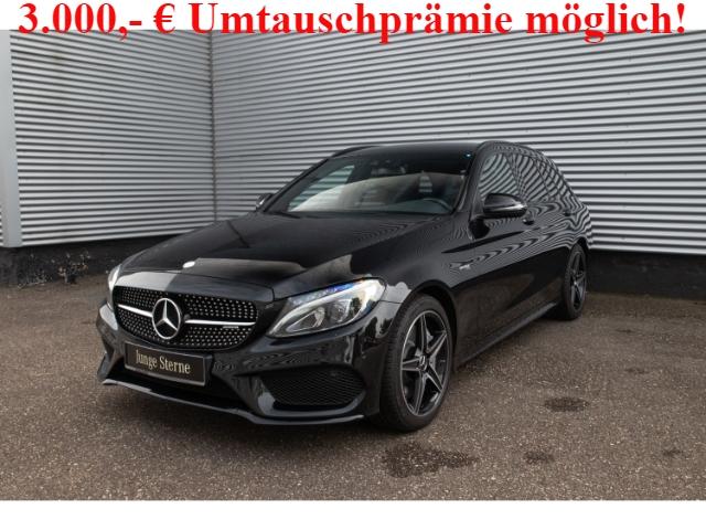 Mercedes-Benz C 43 AMG T 4M Nigth+Navi+LED+Sound+Business Plus, Jahr 2017, Benzin