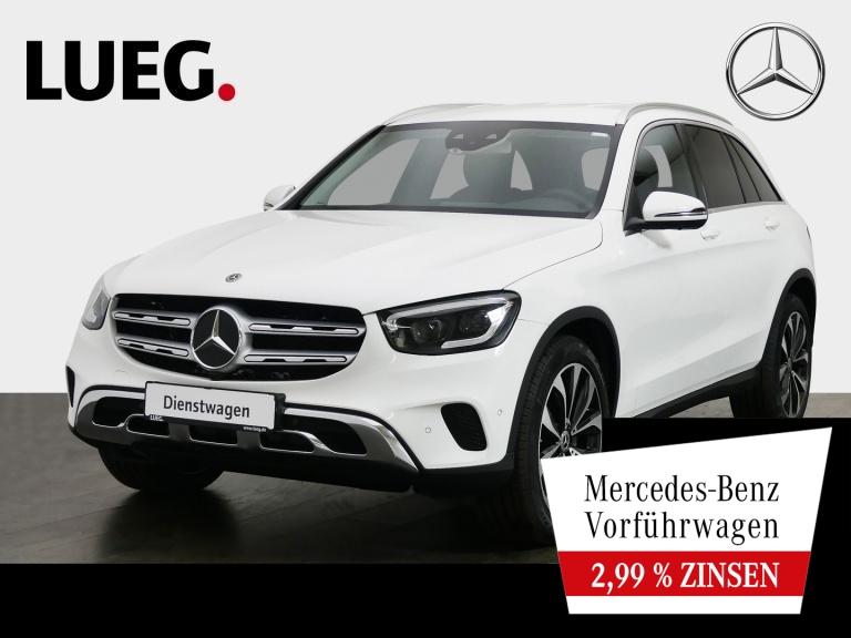 Mercedes-Benz GLC 300 4M OFF-ROAD+20''+3 x HIGH-END+LEDER+AHK, Jahr 2020, Benzin