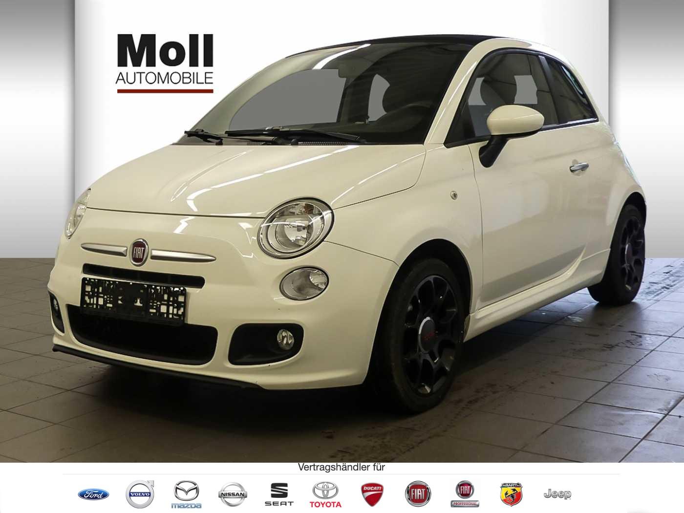 Fiat 500 C 0.9 86PS Sport WKR PDC, Jahr 2014, Benzin