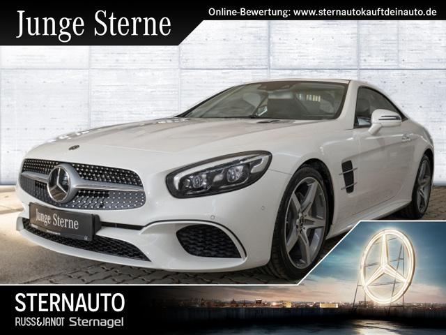 Mercedes-Benz SL 400 AMG Sitzklima BO Sound Distro Magic Sky, Jahr 2018, petrol