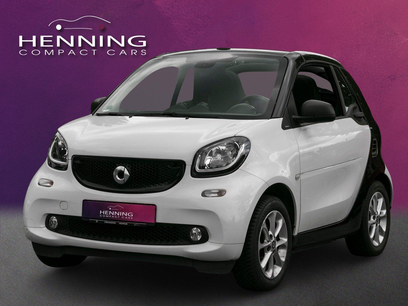 smart fortwo cabrio passion Klima LED Sitzheizung, Jahr 2017, Benzin