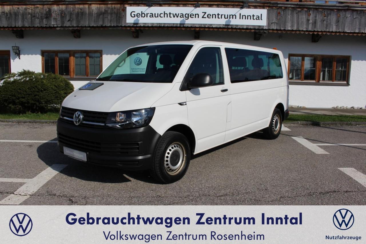 Volkswagen Transporter T6 Kombi LR 2.0 TDI 9-Sitzer (Standhzg.,Rückfahrkam), Jahr 2016, Diesel