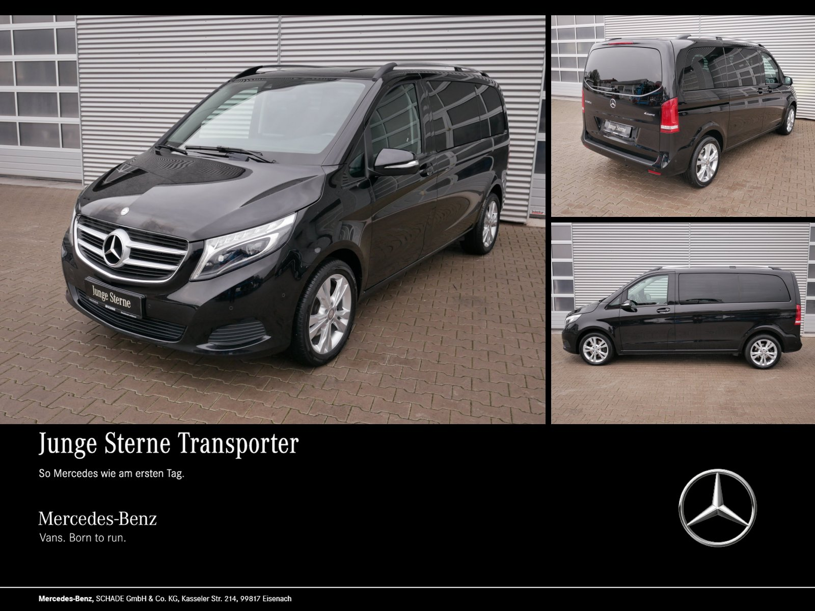 "Mercedes-Benz V 250 EDITION 4 MATIC LED AHK NAVI 18"" ALU EURO6, Jahr 2015, diesel"