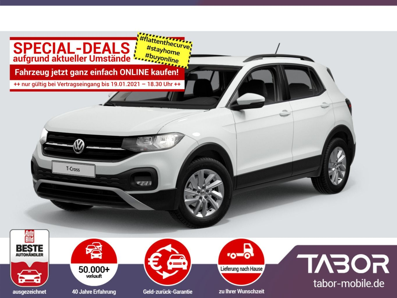 Volkswagen T-Cross 1.0 TSI 110 Life PDC MFL CompC DAB+, Jahr 2020, Benzin