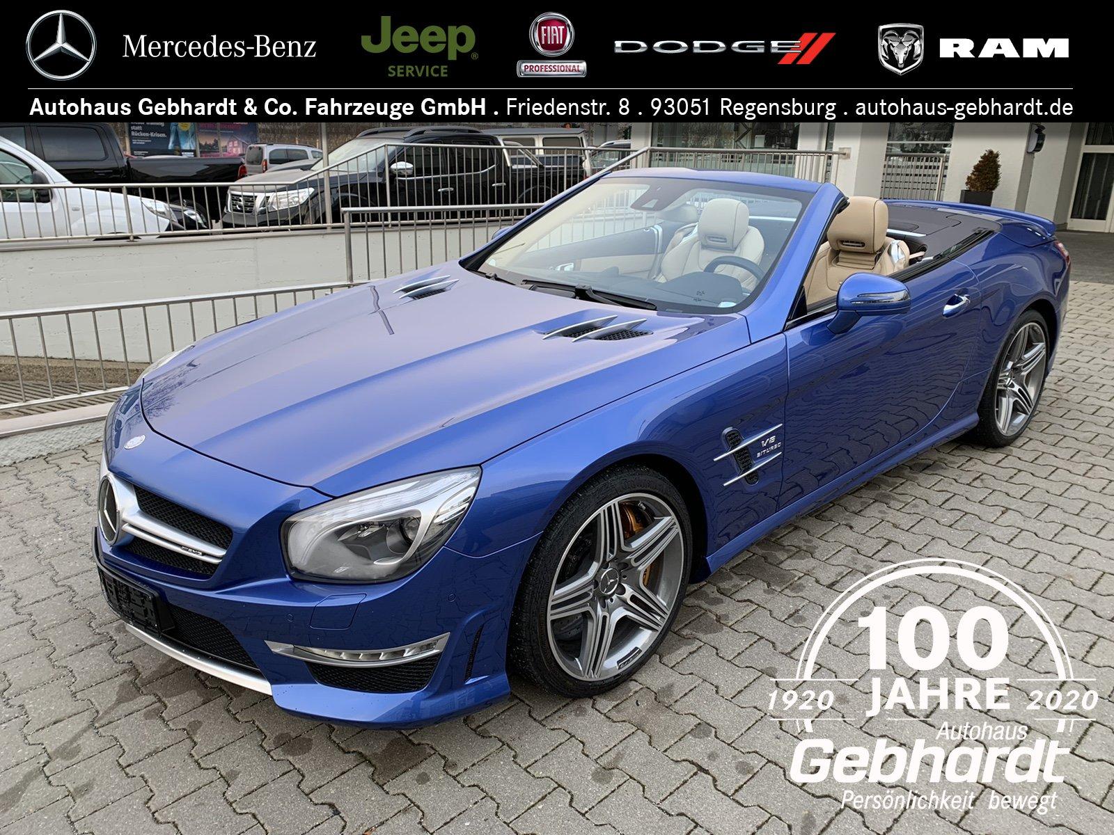 Mercedes-Benz SL 63 AMG/Keramik/Drivers/Variodach/BeoSound/DIS, Jahr 2014, Benzin