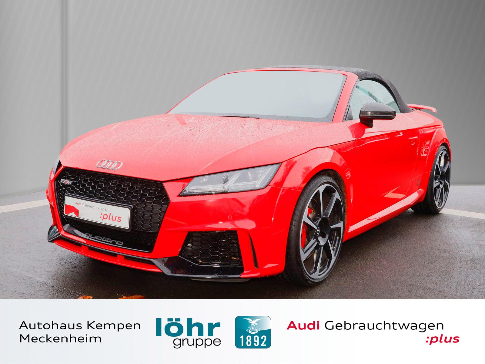 Audi TT RS Roadster 2.5 TFSI Carbon Kamera Leder RS, Jahr 2017, petrol