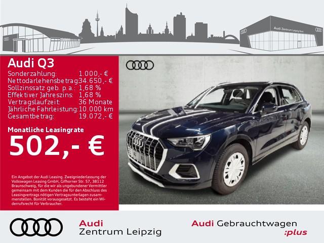 Audi Q3 35 TFSI advanced *Audi pre sense front*, Jahr 2020, Benzin