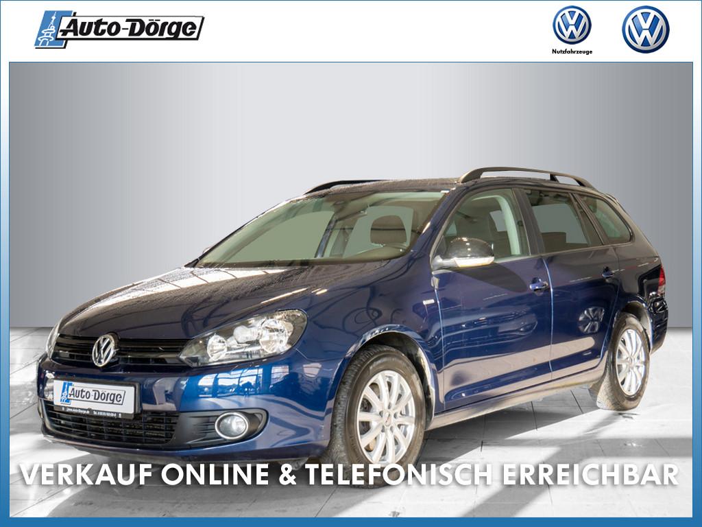 Volkswagen Golf VI Variant TSI MATCH+KLIMA+NAVI+EINPARKHILFE+LICHTSENSOR, Jahr 2013, Benzin