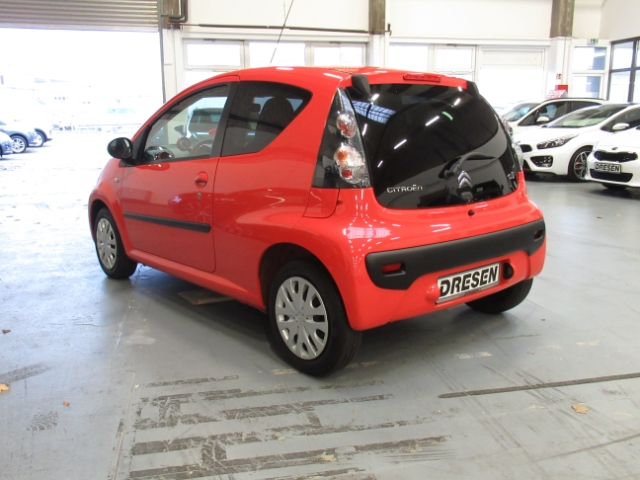 Citroën C1 Selection 1.0 LED-Tagfahrlicht NR Klima CD USB MP3 ESP Kindersitze int. Seitenairb., Jahr 2014, petrol