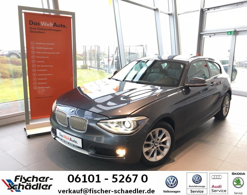 BMW 116 UrbanLine*Xenon*ParkPilot*SitzHz.*MFL, Jahr 2013, petrol