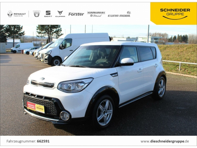Kia Soul 1.6 GDI Dream Team SHZ PDC, Jahr 2015, Benzin