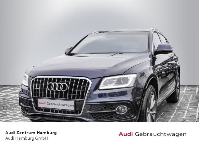 Audi Q5 3,0 TDI S line quattro S tronic PANO NAVI AHK, Jahr 2017, Diesel