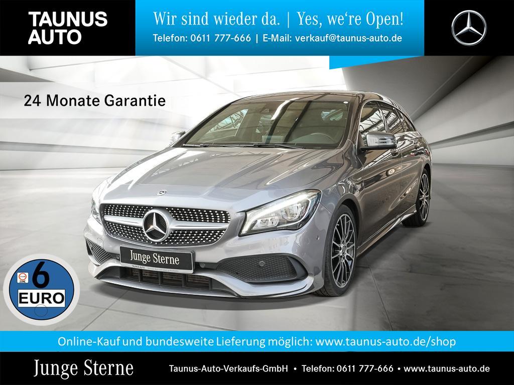 Mercedes-Benz CLA 220 Shooting Brake d 4Matic AMG Navi LED PTS, Jahr 2017, Diesel