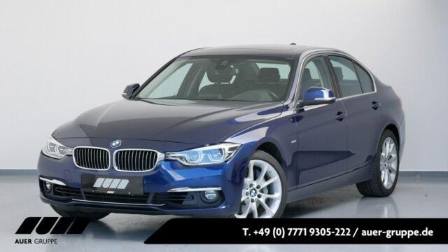 BMW 340i Limousine (Luxury-Line Navi LED Leder Shz), Jahr 2017, Benzin