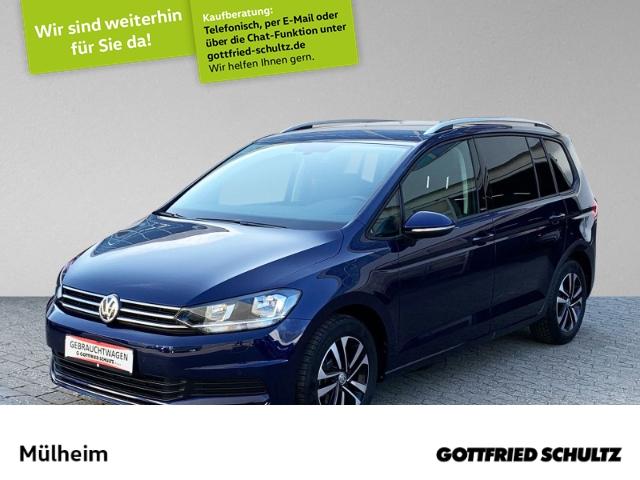 Volkswagen Touran 1.5 TSI S -Sitzer NAVI PDC ALLWETTER United, Jahr 2020, Benzin