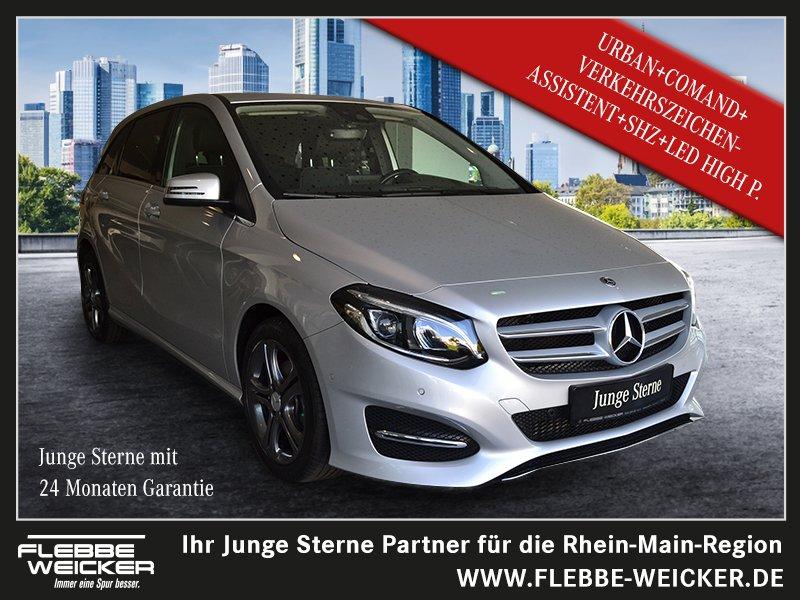 Mercedes-Benz B 220 d Urban, Jahr 2018, Diesel