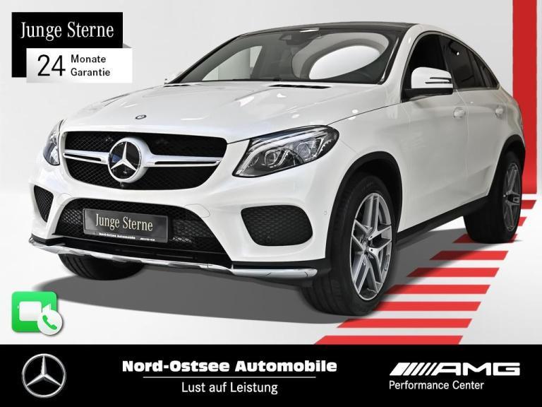 Mercedes-Benz GLE 500 AMG Comand 4M Standh. Distr. Pano 360°, Jahr 2016, Benzin