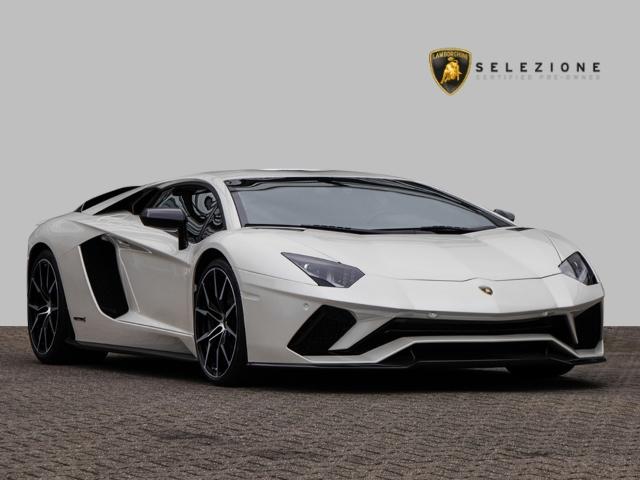 Lamborghini Aventador S Ballon White Pearl Effect, Jahr 2017, Benzin