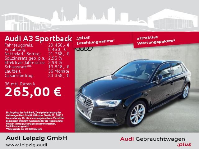 Audi A3 Sportback 1.4 TFSI e-tron S-tr. *Matrix*AHK*, Jahr 2018, Hybrid