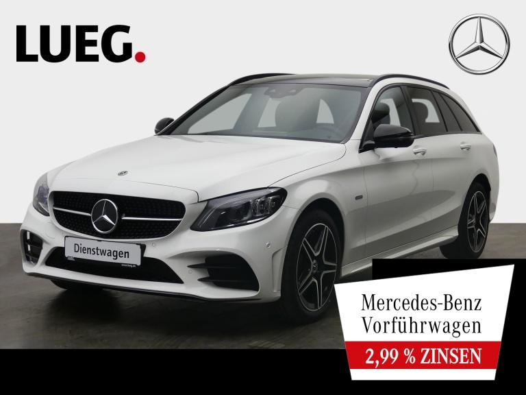 Mercedes-Benz C 300 e T NIGHT EDITION+AMG+PANO+360°+DIST+NP67T, Jahr 2021, Hybrid