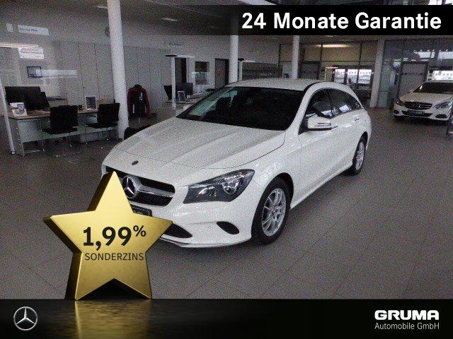 Mercedes-Benz CLA 200 d SB NAVI+TOTW+KAMERA+PARKPILOT+TEMPOMAT, Jahr 2017, Diesel
