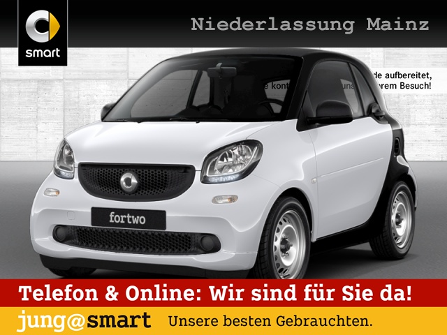 smart fortwo coupé 52kW cool&Audio Direktlenkung Tempom, Jahr 2017, Benzin