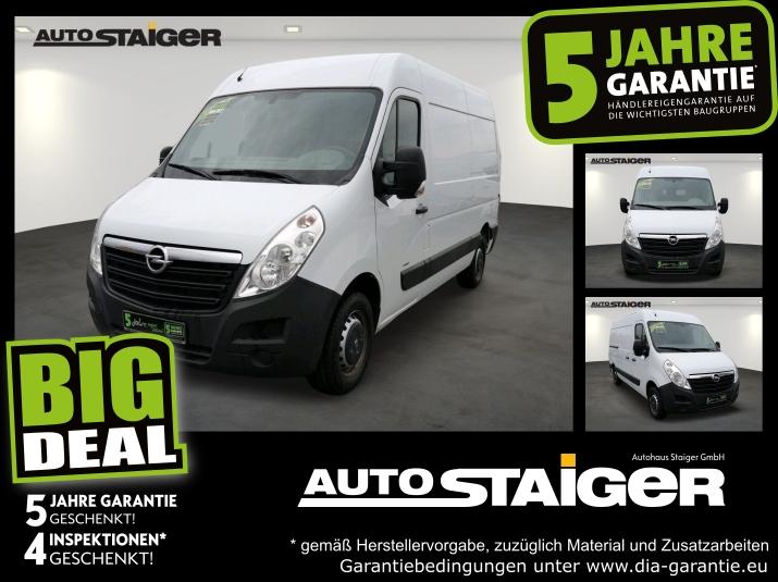 Opel Movano 2.3 CDTI L2H2 3.5t Anhängerkupplung, Klim, Jahr 2015, Diesel