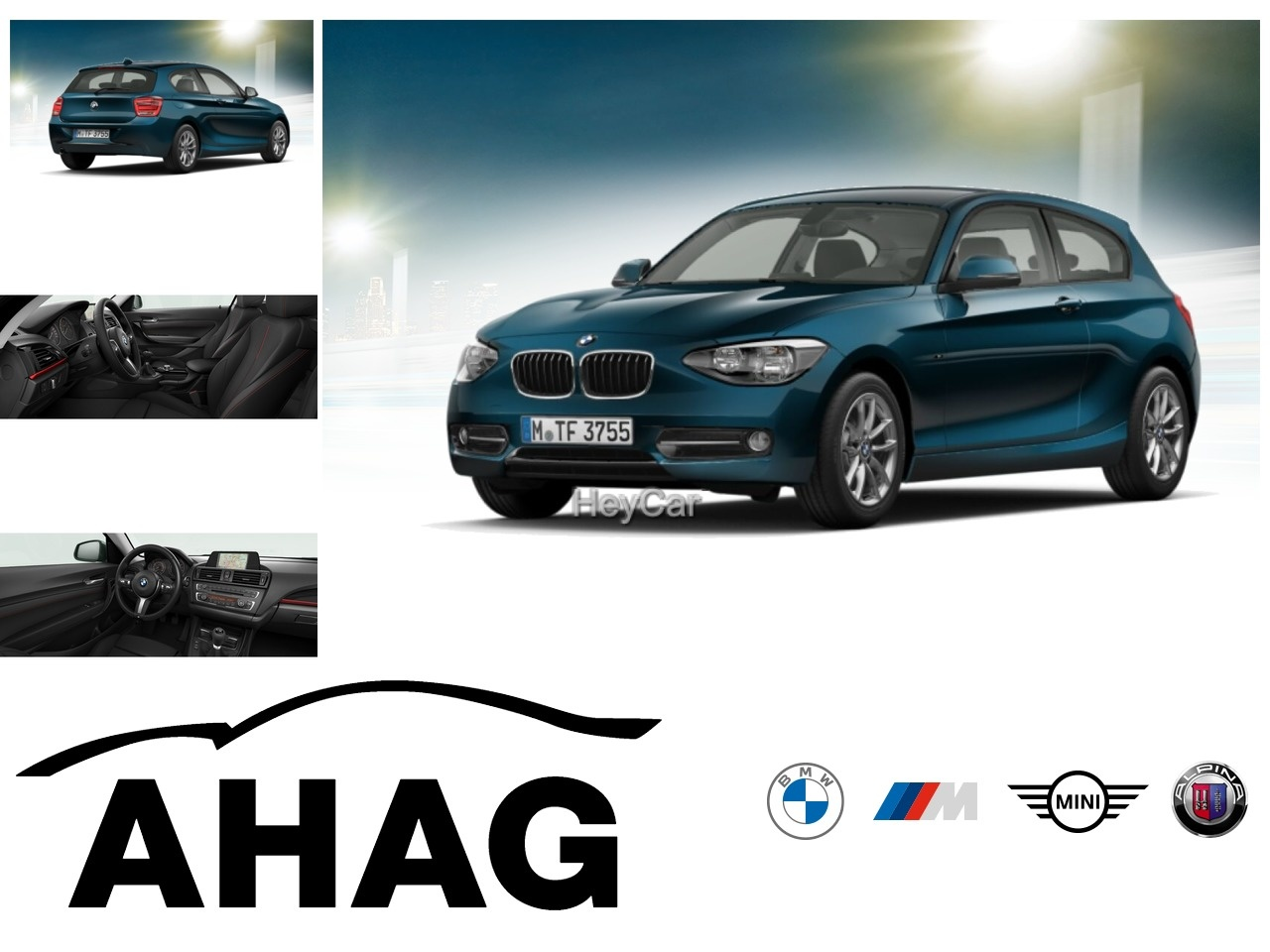 BMW 116i Sport Line Navi Business Klimaaut. LM PDC, Jahr 2014, Benzin